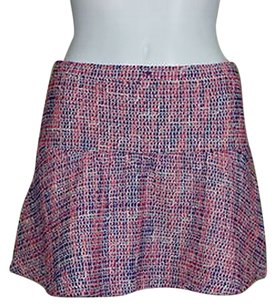 Topshop Top Shop Womens Blue Skirt Pink