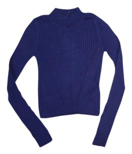 Topshop Crop Knit Longsleeve Sweater