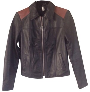 Topshop Two Tones Leather Jacket