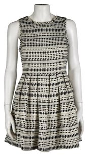 Topshop Womens Sheath Cotton Above Knee Casual Dress