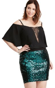 Torrid Mini Skirt Green