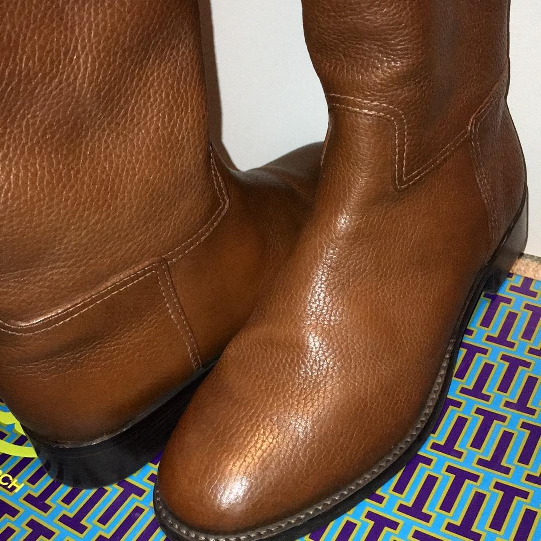 d4bd2c0d448 ... Tory Burch 22158543 Or Junction Riding Boots Booties Size US 7.5 7.5  7.5 Regular ...