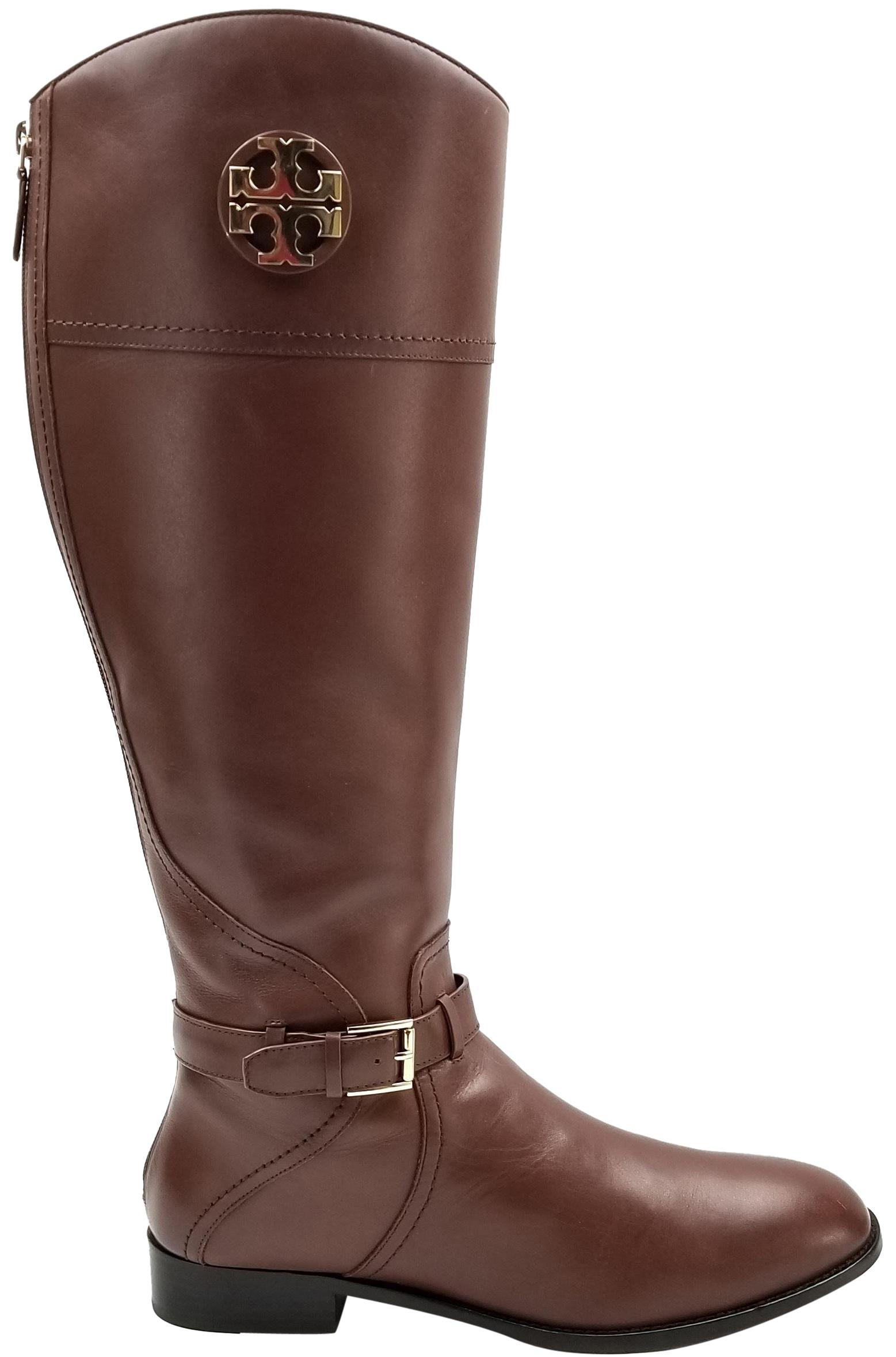 Tory Burch Almond 'adeline' Tall Boots/Booties Size US 7.5 Regular (M, B)