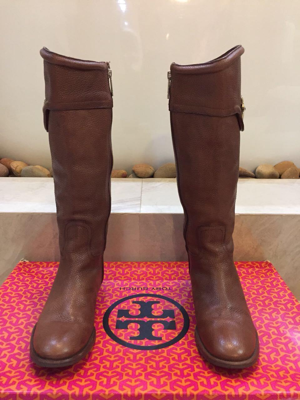 0144264c41c4 ... bootie coupon tory burch ridingboot leather gold almond boots.