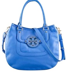 Tory Burch Amanda Satchel Satchel in Blue