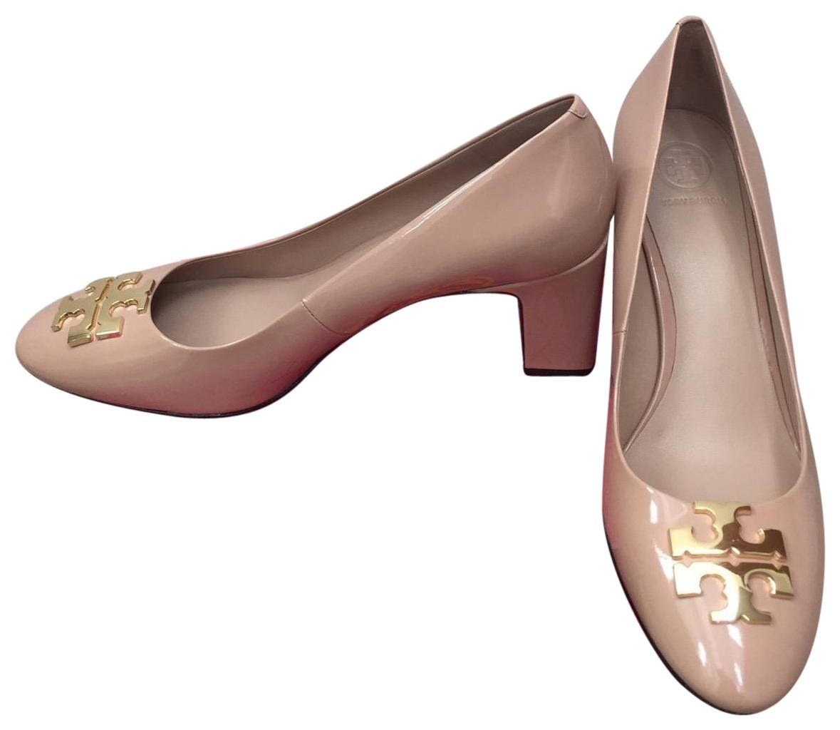 a5cec40730f Tory Burch Beige 8.5m   Raleigh Raleigh Raleigh   70mm Patent Leather Pumps Size  US