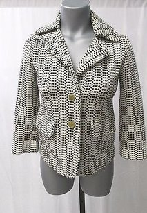 Tory Burch Cotton Beige and black Jacket