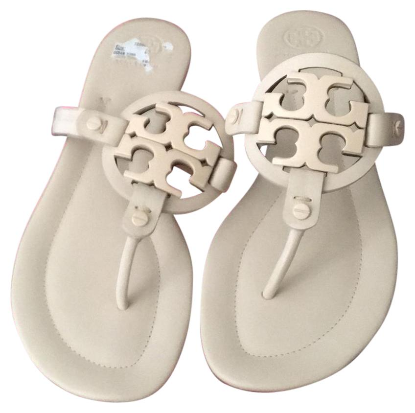 Tory Burch Beige Miller Sandals Size B) US 10.5 Regular (M, B) Size d4e040