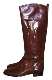 Tory Burch Brita Sienna Flat Brown Boots
