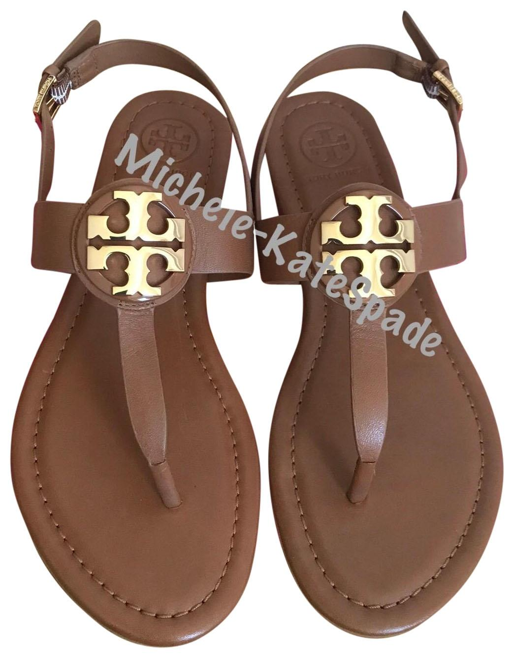3c1db6c910c Tory Burch Brown Bryce Flat Thong Sandals Sandals Sandals Size US 6 Regular  (M