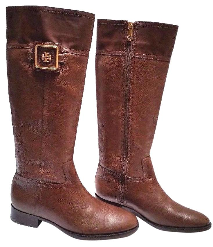 Tory Burch Julian Leather Riding Boots clearance 100% original cheap sale exclusive L9bwdfyl0