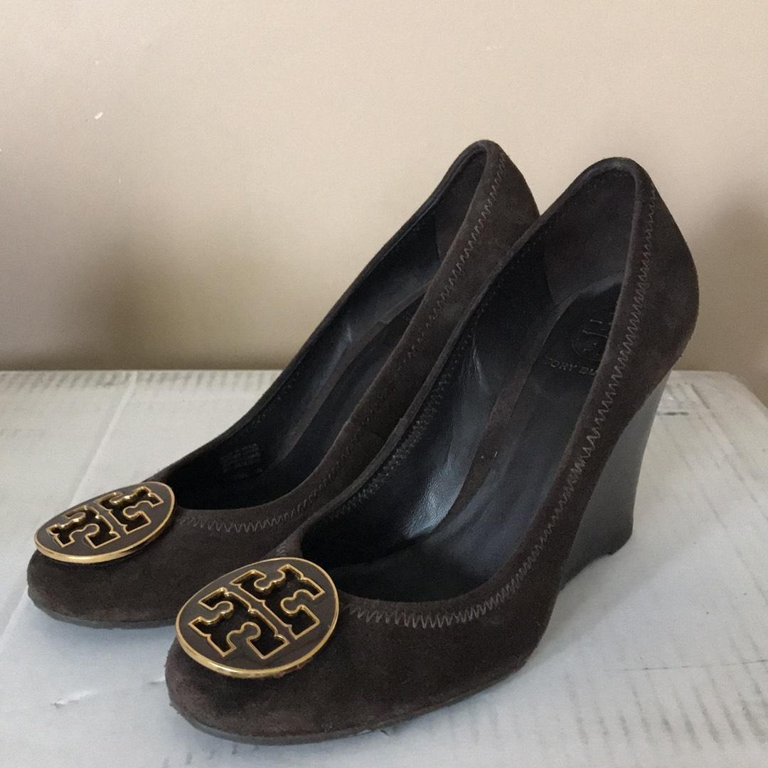 Tory Burch brown Wedges ...