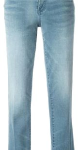 Tory Burch Capri/Cropped Denim-Medium Wash