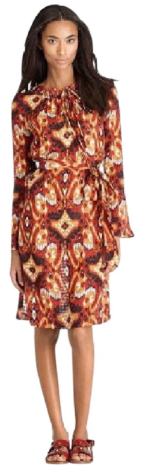 Tory Burch Diana Ikat Print Dress