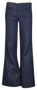 Tory Burch Womens Wash 27 Causal Pants Trousers Flare Leg Jeans