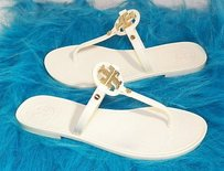 Tory Burch Mini Miller Jelly Ivory Sandals