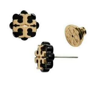 Tory Burch Flower resin stud earrings