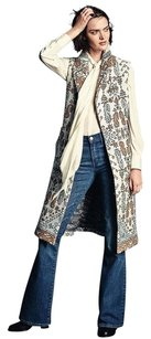 Tory Burch Long Jacquard Vest