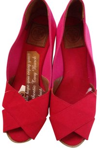 Tory Burch Monochrome pink/hotpink two toned Wedges
