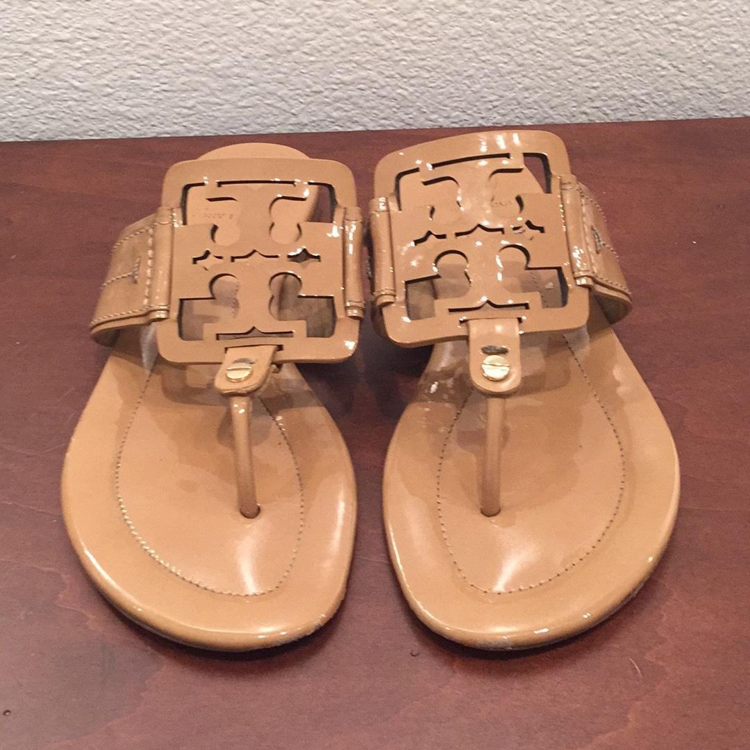 fd94772ba3b Tory Burch Nude Miller Sandals Size US US US 7.5 Regular (M