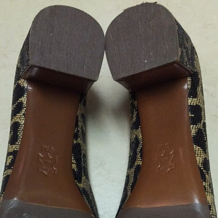 Tory Burch Leopard Pumps