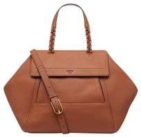 Tory Burch Satchel in gingerbread