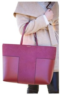 Tory Burch Satchel in Shiraz Burgundy Red