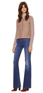 Tory Burch Suede Brown Cardigan