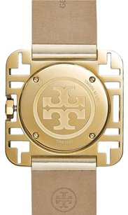 Tory Burch Tory Burch Izzie Gold Tone Gold Patent Strap Women Watch TRB3003