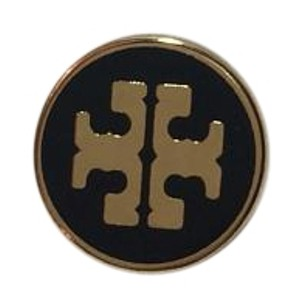 Tory Burch TORY BURCH REPLACEMENT BUTTON Gold w/ Black Coating NEW