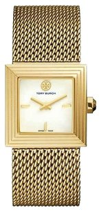 Tory Burch TORY BURCH SAWYER 25MM GOLD MESH BRACELET TRB5101,