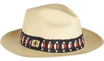 Tory Burch Tory Burch Top Stitch Fedora Hat with Tags