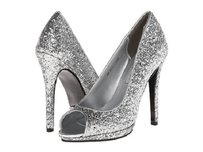 Touch Ups Silver Pumps
