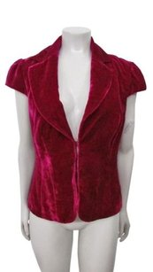 Trina Turk Crushed fuschia Jacket