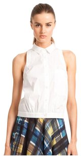 Trina Turk Button Down Shirt White