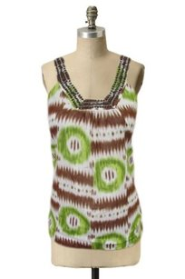 Trina Turk Tie Dye Tribal Top Multi-Color