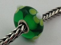 Trollbeads Trollbeads Ooak Murano Glass Unique Bead Charm 101 13mm Diameter