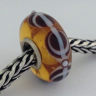 Trollbeads Trollbeads Ooak Universal Unique Murano Glass Bead Charm Fits Most