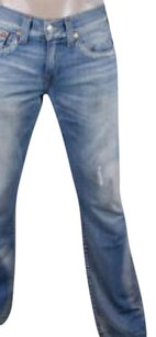 True Religion Relaxed Fit Jeans-Light Wash