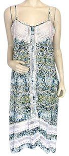 Twelfth St. by Cynthia Vincent short dress Multi-Color Floral on Tradesy