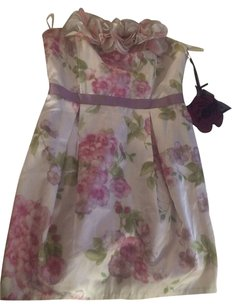 Twelve by Twelve New Floral Strapless Bubble Dress
