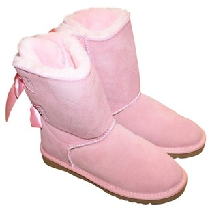 UGG Australia Bailey Bow pink Boots
