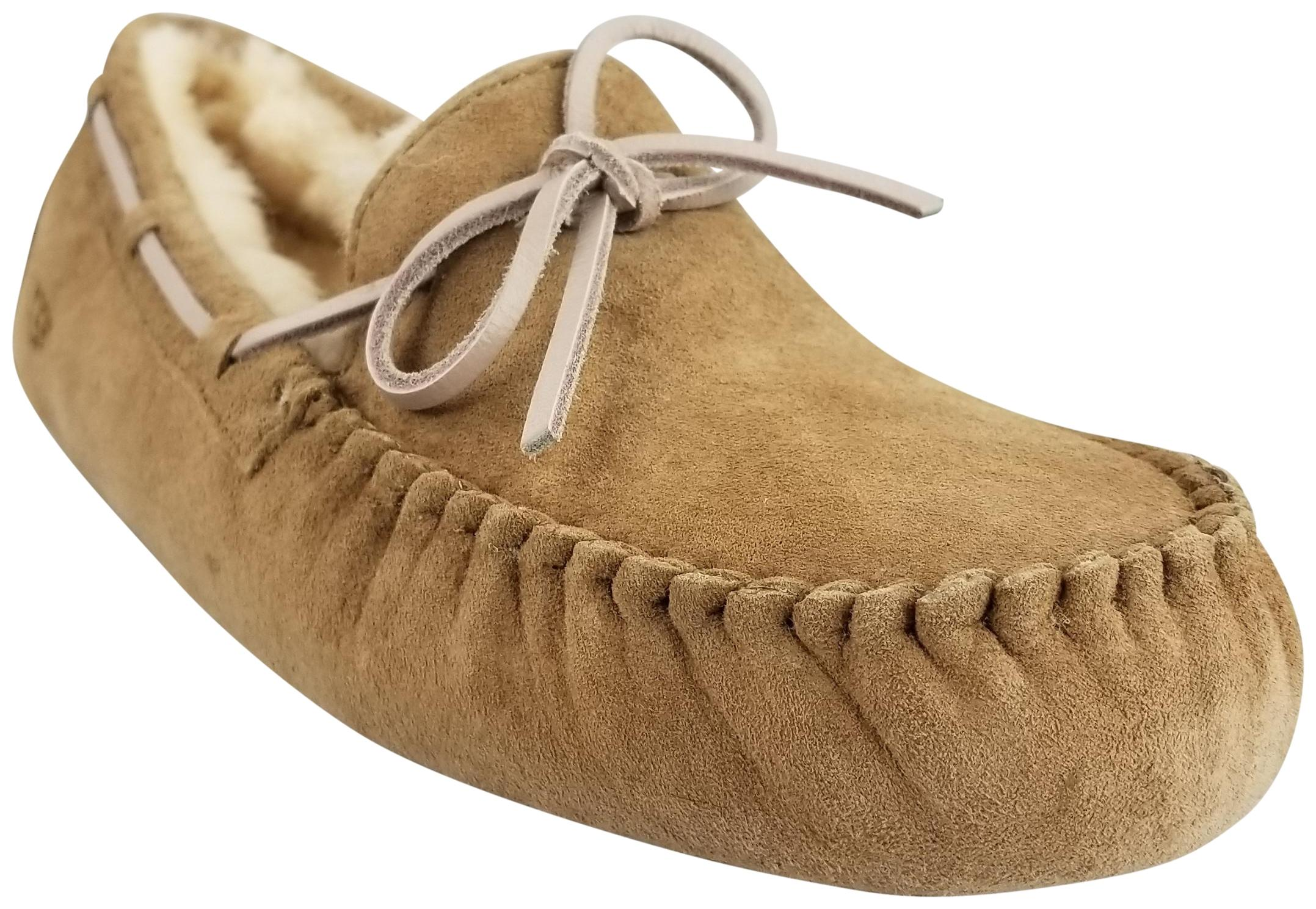 UGG Australia Suede Leather Beige Boots ...
