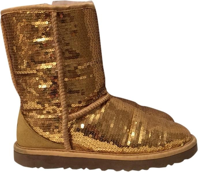 gold sequin uggs