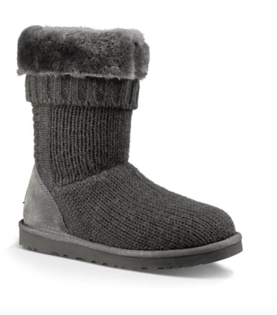 UGG Australia Shearling-Lined Knit Booties buy cheap 2014 newest omg5T