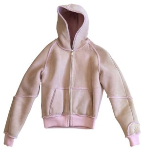 UGG Australia Pink Leather Jacket