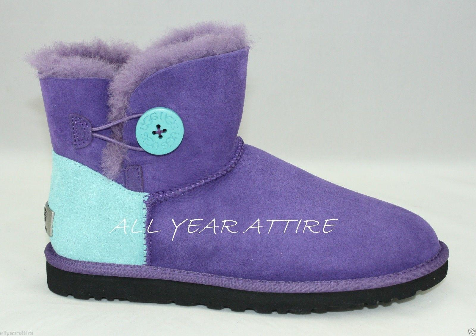 8aba9aa07f0 get ugg mini bailey button purple f353a 302ac