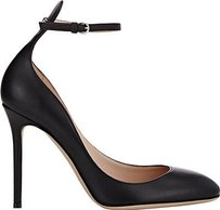 Valentino Smooth Black Pumps