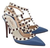Valentino Rockstud Heels Brand New Blue Pumps