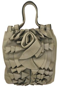 Valentino Rose Classic Soft Tote in Taupe